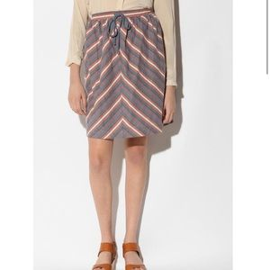 •nwt• UO's Cooperative garden striped skirt